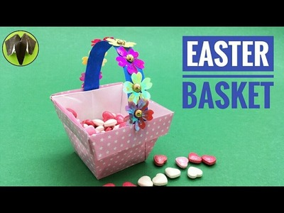 Easter Basket - DIY Origami Tutorial by Paper Folds