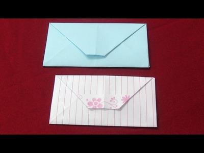 Envelope de Origami - DIY