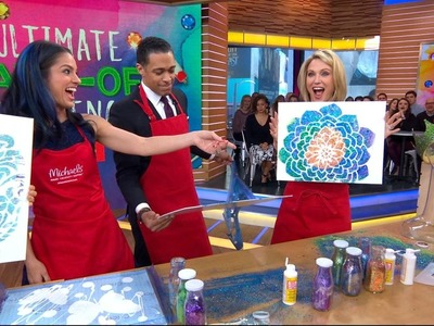 'GMA' anchors compete in a DIY spring art challenge | GMA