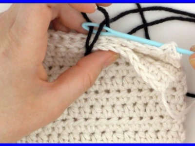 How to Crochet a Seamless Join