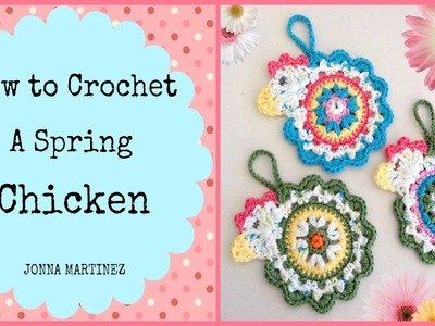 How to Crochet a Spring Chicken