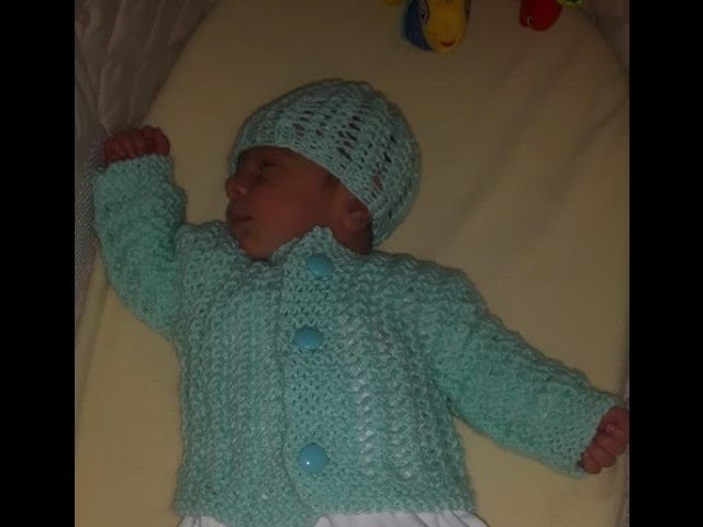 Tips For Knitting Your First Sweater : Baby sweater to knit for beginners full zip