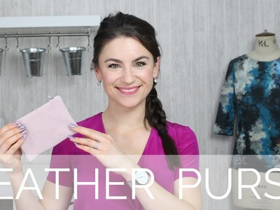How To: Leather Plain Purse DIY