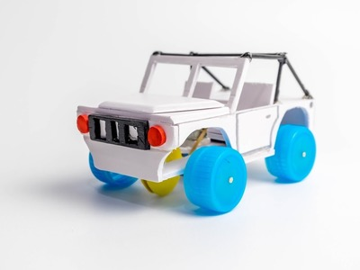How To Make a Car - Amazing Jeep Car DIY - (Electric Car)