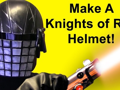 How To Make A Knights Of Ren Helmet (Grenade Face DIY)