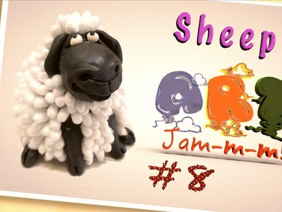 How To Make a Sheep by Modeling clay  | Craft activities | Play doh For Kids