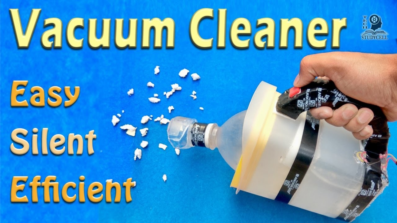 How to Make a Vacuum Cleaner - DIY Science Project