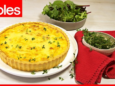 How to make classic quiche Lorraine