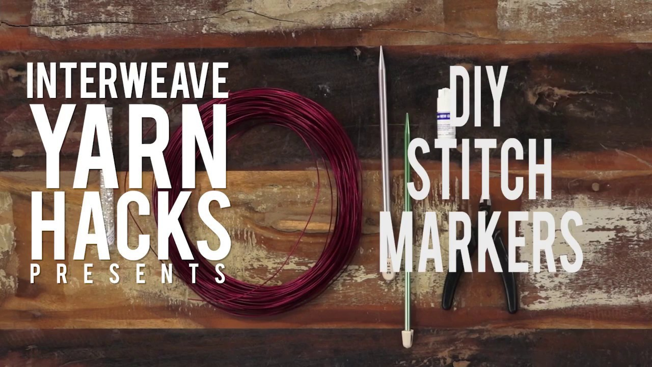 How to Make DIY Stitch Markers