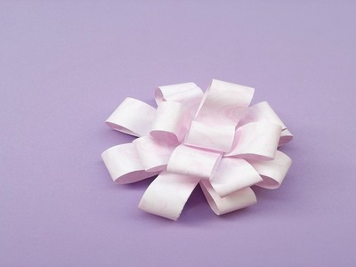 How To Make Origami Bow - Paper Crafts