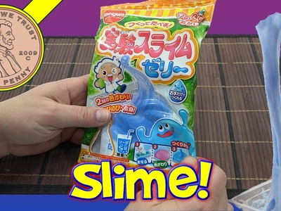 Meigum Slime Jelly Japanese Sticky DIY How To Candy Kit