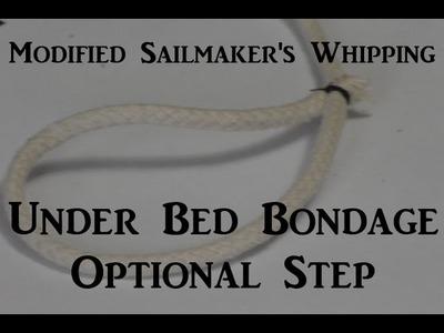 ⚓ Modified Sailmaker's Whipping - ???? Bondage Bed ???? Optional Step - Kinky DIY BDSM