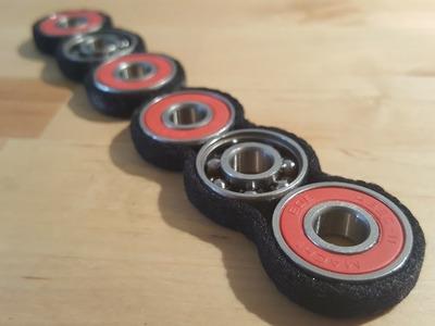 Super cheap & easy DIY Fidget Spinner! Shoe lace & super glue