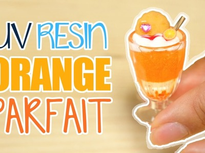 [UV Resin] Orange Parfait | Watch Me Craft ♡