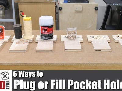 6 Ways to Plug or Fill Pocket Holes | How to