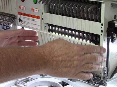 Avance Multihead Maintenance   How to Set Needle Depth