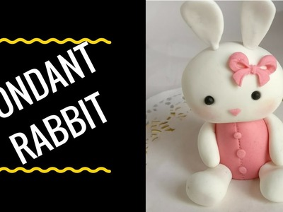 CUTE FONDANT ANIMALS (Baby rabbit) - How to Video