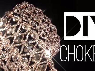 DIAMONDS ARE A GIRL'S BFF CHOKER & BRACELET HOW TO