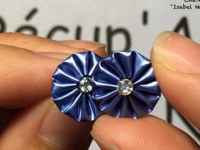 DIY Coffee pod: How to make little sunshine earrings