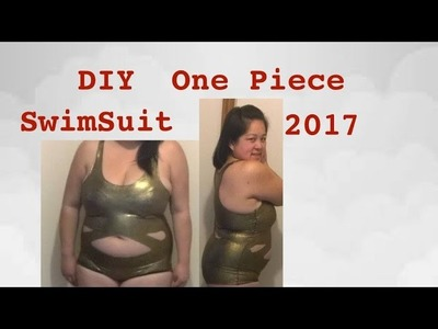 DIY: How to make a One Piece Swimsuit (easy for beginners)