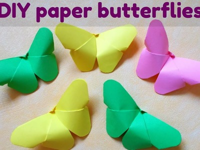 DIY Paper Crafts | Paper Butterfly | Very easy origami | Maison Zizou