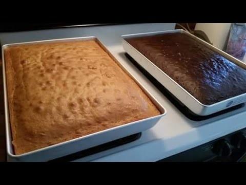 Cake Mix Sheet Cake Receipe
