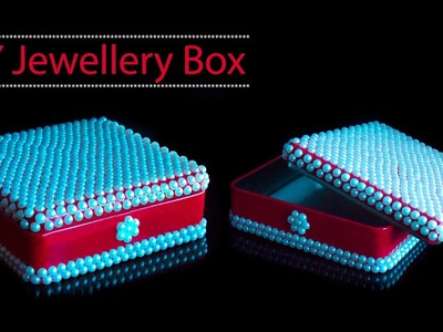 How to decorate box | DIY jewellery box | Best out of waste