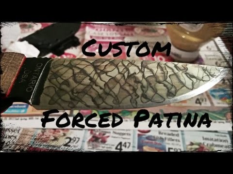 How to: Design a Custom Forced Patina