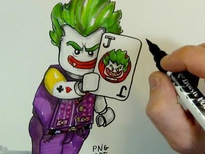 How to Draw LEGO JOKER#The LEGO Batman Movie#