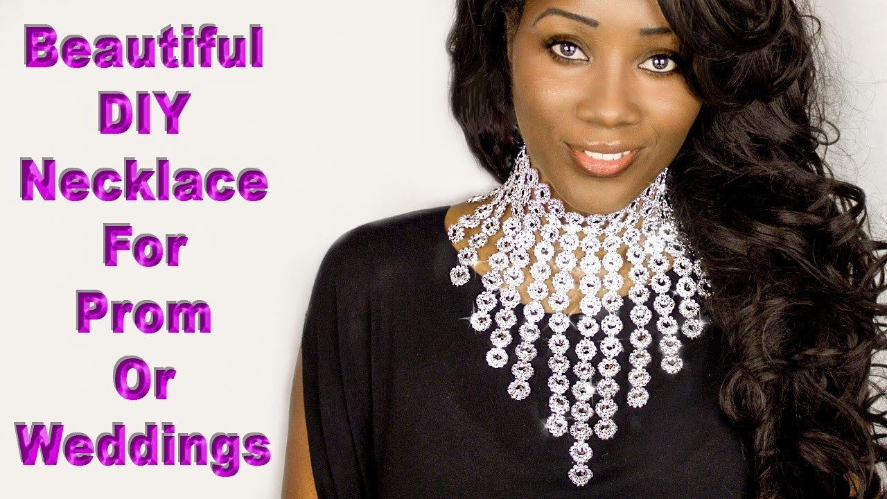 How to extend your  Beautiful Easy to make statement necklace