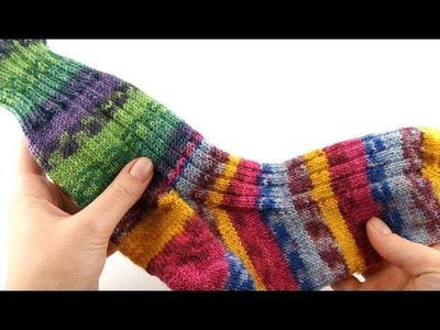 How to Knit Toe-Up Socks #1 Toes