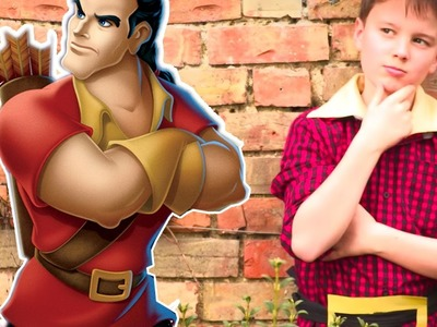 How To Make A Beauty and the Beast Gaston Costume ???? | Full Movie 2017  ???? Crafty Kids