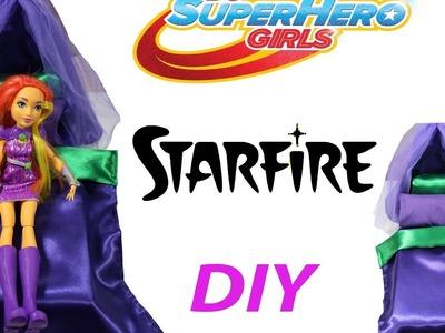 How To Make A Bed For Starfire from DC superhero Girls