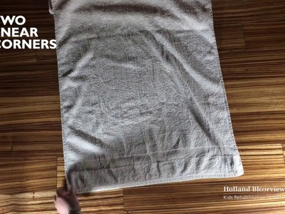 How to Make a Cape from a Towel