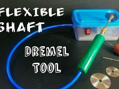 How To Make a Flexible Shaft Dremel Tool || at home || DIY || Easy and Simple