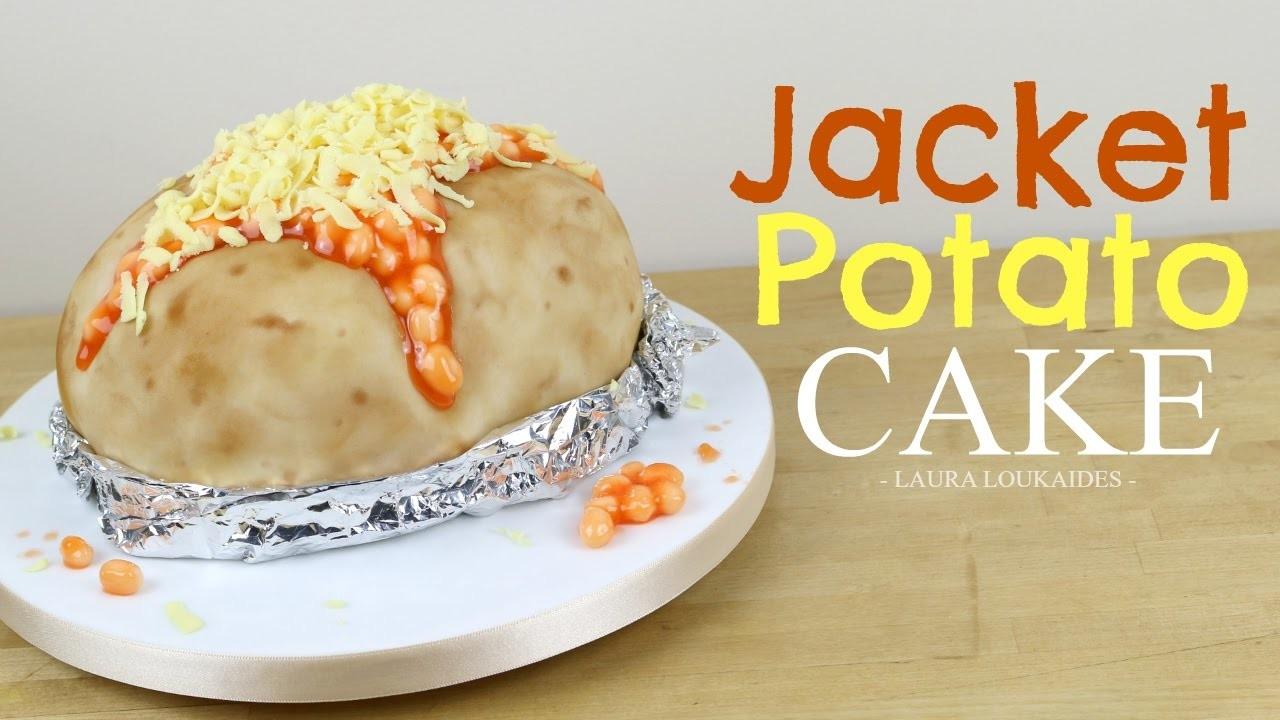 How to Make a Jacket Potato Cake - Laura Loukaides