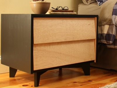 How to make a Mid-Century Modern Nightstand