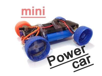 How to make a mini power CAR extra power