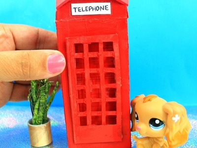 How to make a miniature telephone box