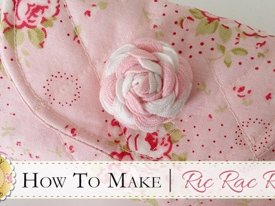How to Make a Ric Rac Rose | with Jennifer Bosworth of Shabby Fabrics