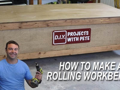 How to Make a Rolling Workbench