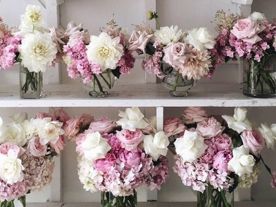 How to Make Flowers Open Up By Hand (Secret Florist's Trick from Boutierre Girls))