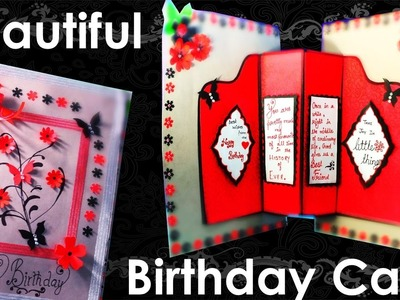 How to Make Giant Beautiful Birthday Card | Handmade Card