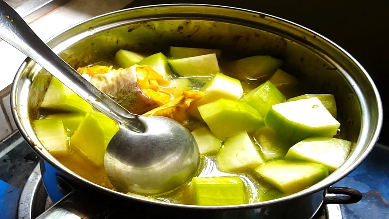 How to make health fish soup with wax gourd cambodian for How to make fish soup