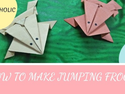 How to make jumping frog