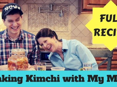 How to Make Kimchi (+ Recipe in Description) - I Try Making Kimchi