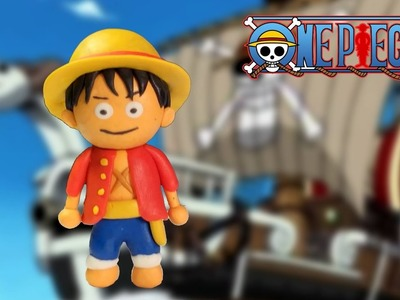 How To Make Luffy Play Doh - Luffy Clay Tutorial
