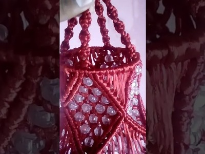 How to make macrame jumar at home