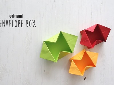 How to make Origami Envelope Box