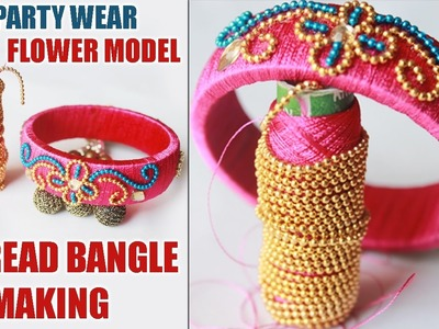 How to Make Rangoli Designs with Colour Kundans and  Gold Chain | Zooltv